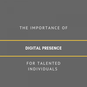 Importance of digital presence